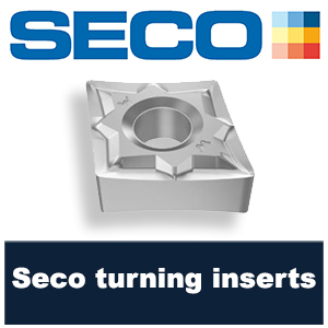 Seco turning inserts