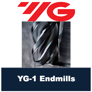 YG-1 endmill section